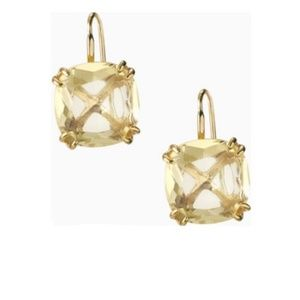 :: Stunning S&D Citrine LUXE Cushion Drop Earrings